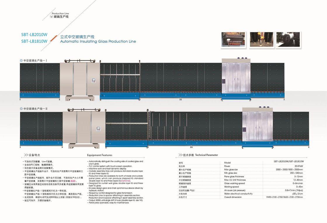 machine automatique de double vitrage de commande num rique par ordinateur machine de. Black Bedroom Furniture Sets. Home Design Ideas